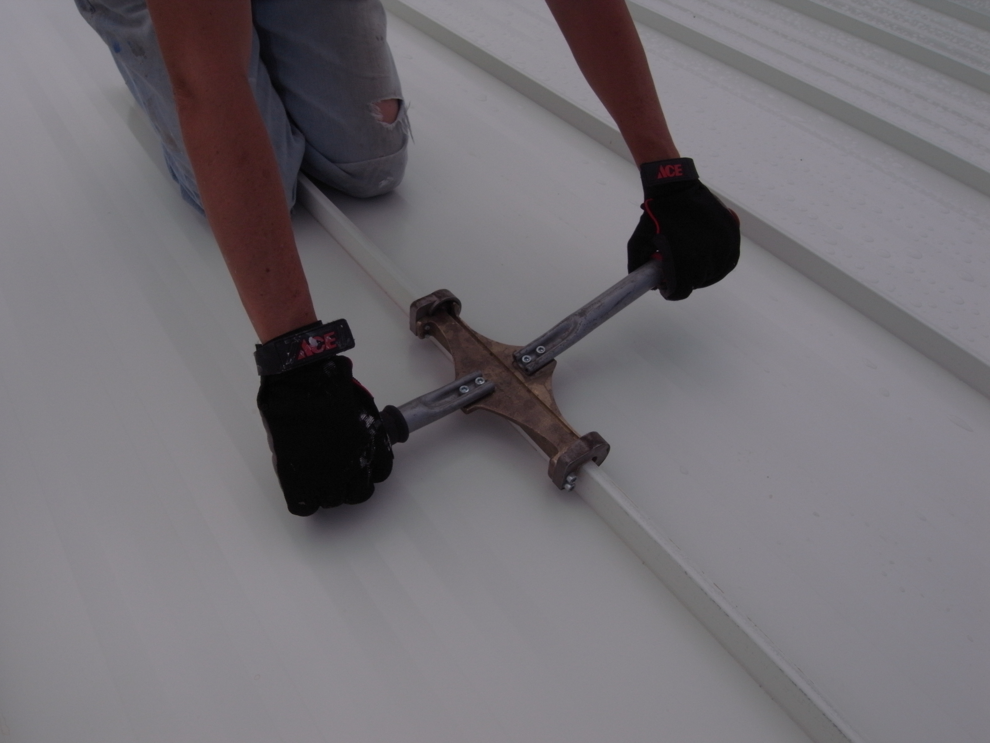 Kb Ranch 187 Blog Archive 187 Diy Guide For A Standing Seam