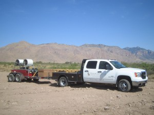 Mastercarft Metals truck and trailer