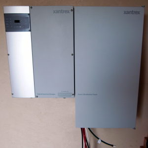 The Inverter and the PDP mounted