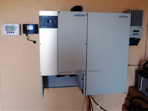 Xantrex XW system with accesories