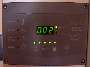 The inverter display